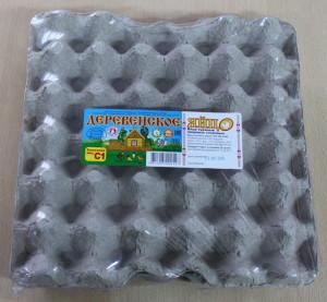 Деревенское яйцо, C1, вакуумная упаковка, 30 шт